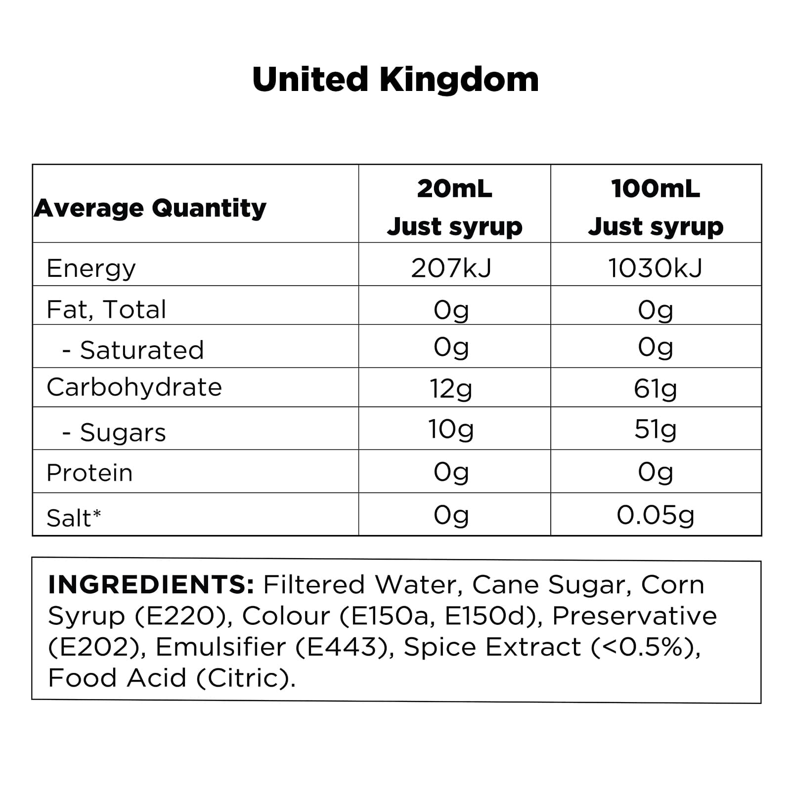 Q Chai Concentrate Global UK