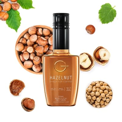Q Hazelnut Syrup for Coffee 250mL