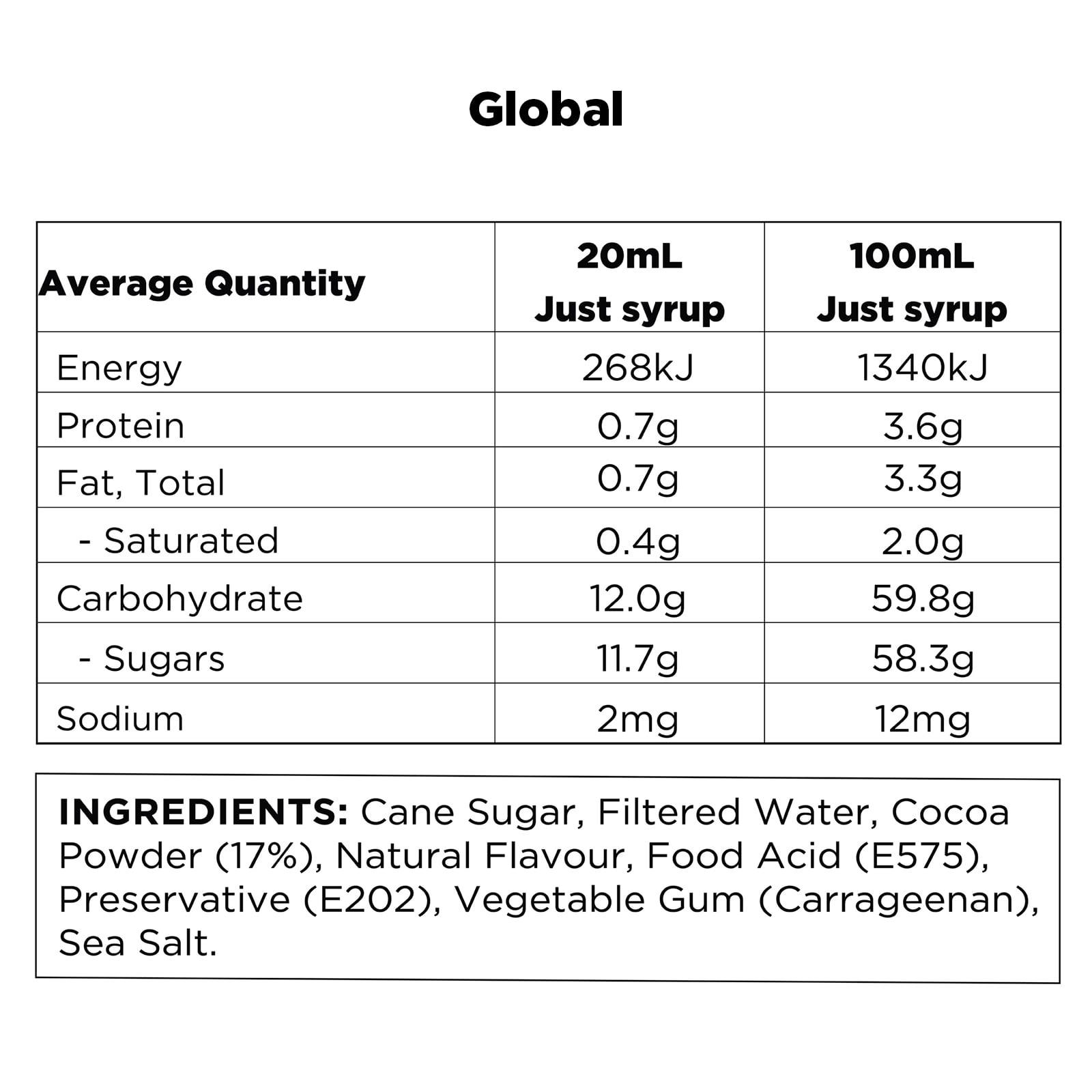 Q Orange Hot Chocolate Global