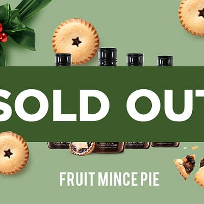 Q Fruit Mince Pie Syrup for Coffee 250mL (Limited Release)