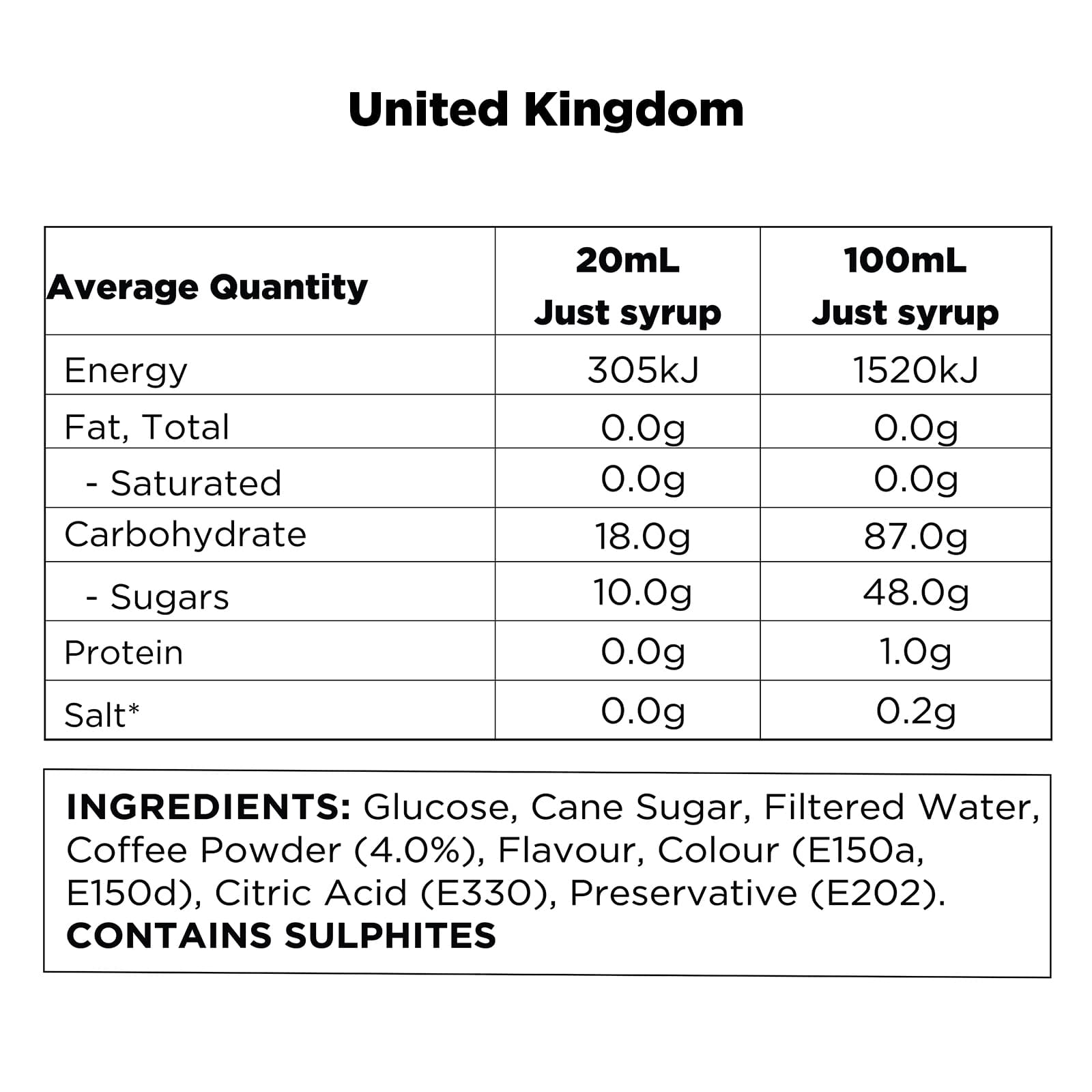 Q Iced Coffee Concentrate UK