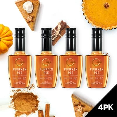 Q Pumpkin Pie Syrup for Coffee 250mL (Limited Release)