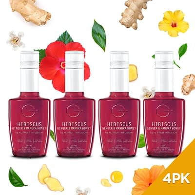 Q Hibiscus Ginger & Manuka Honey Infusion 250mL