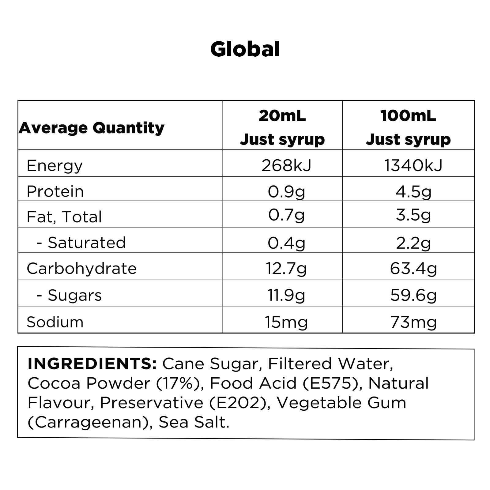 Q Pineapple Hot Chocolate Global