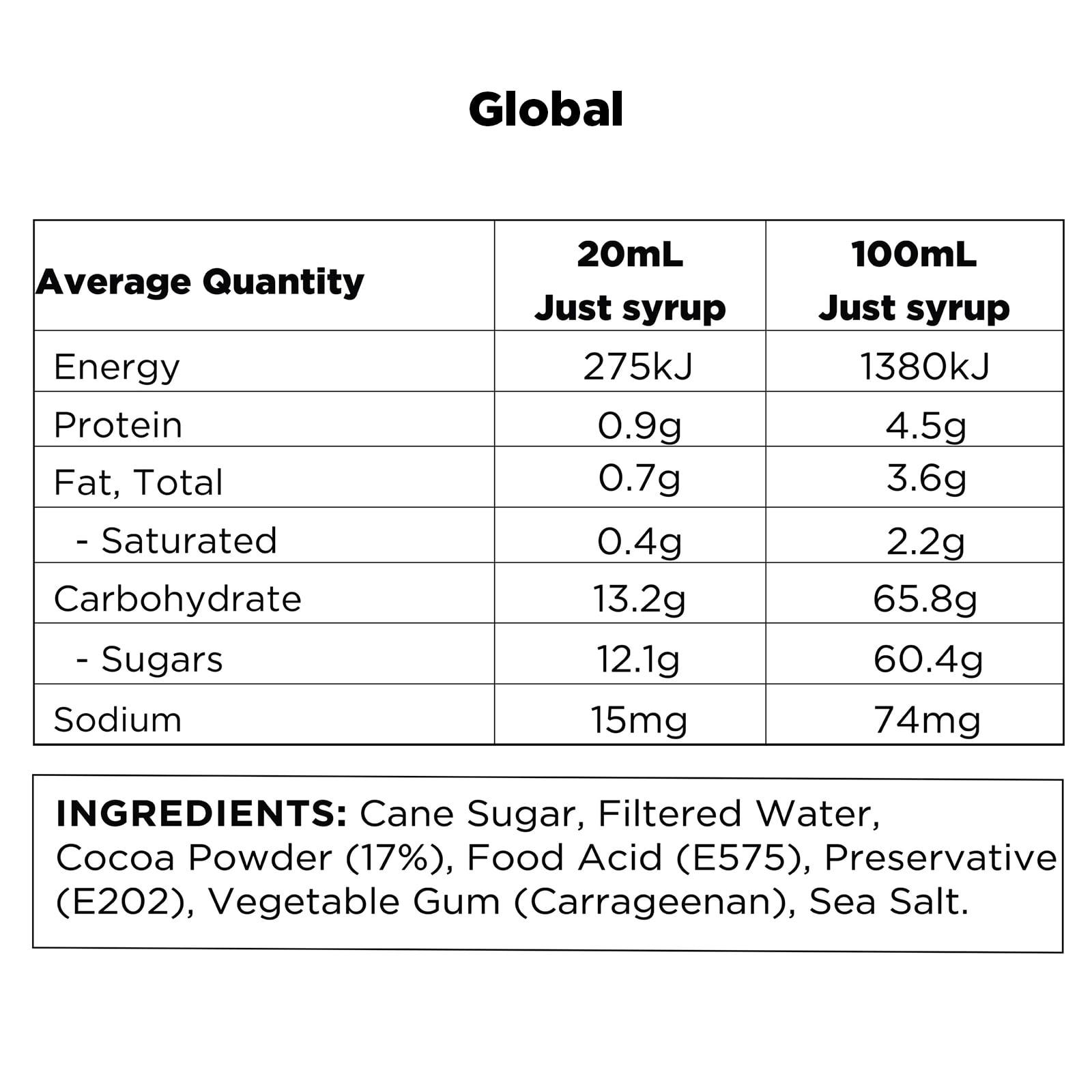 Q Mint Hot Chocolate Global