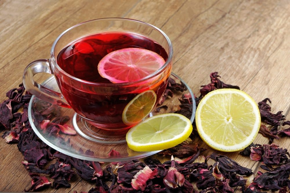 QUARTERPAST Hibiscus Ginger & Manuka Honey real fruit warming infusion