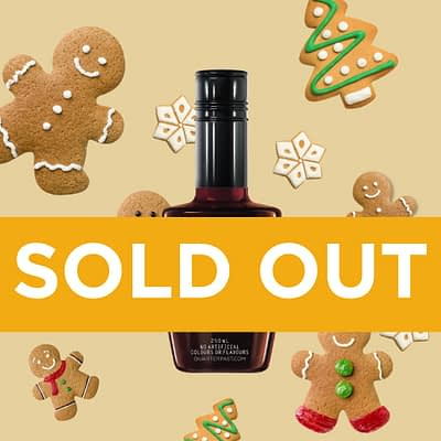 Q Gingerbread Syrup for Coffee 250mL (Limited Release)