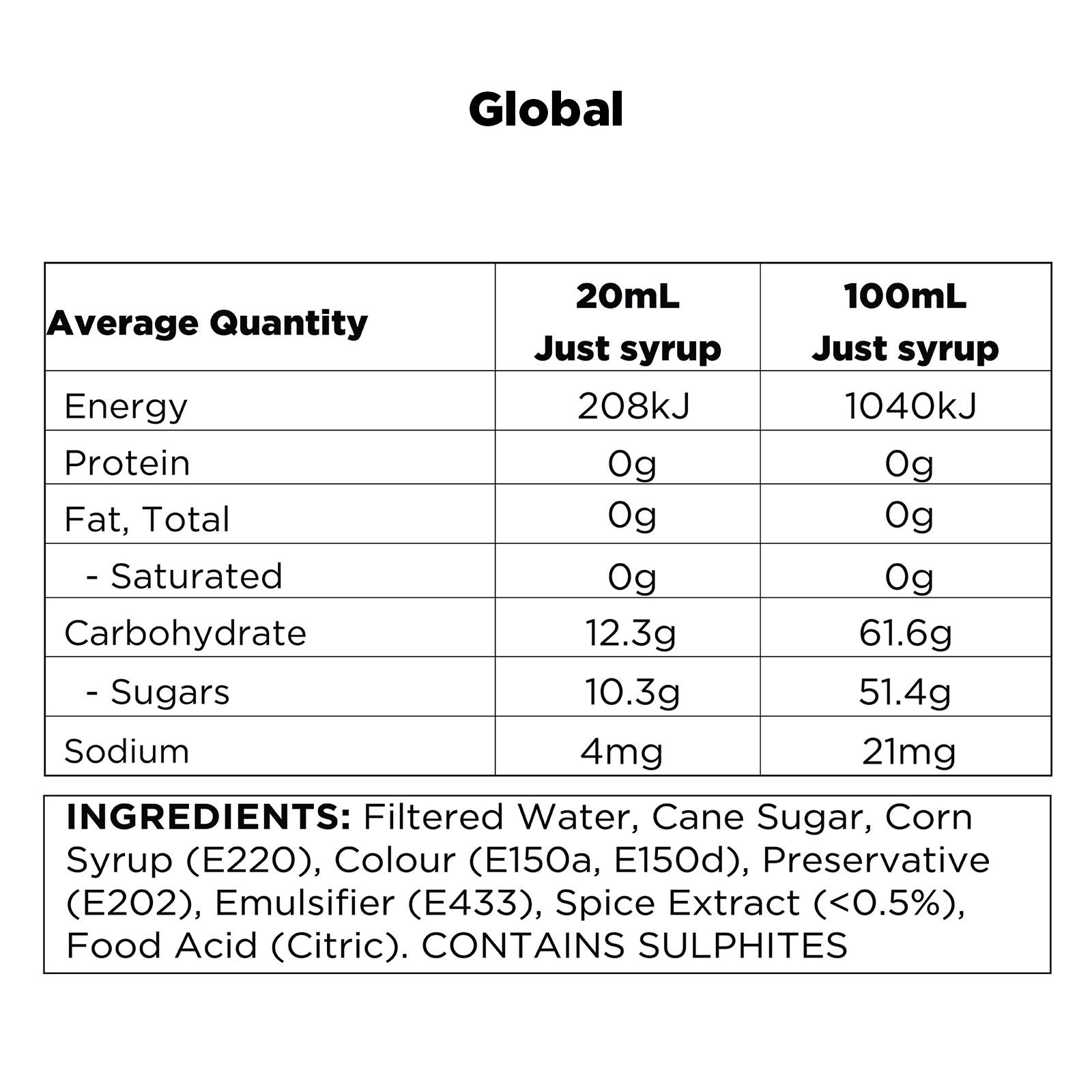 q-chai-nutritional-information