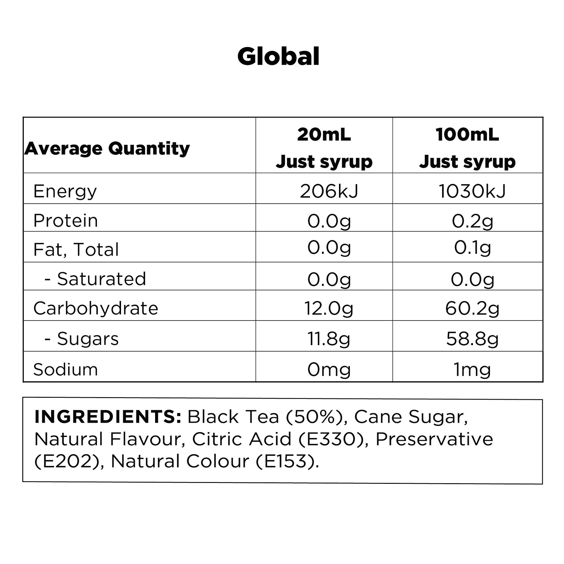Q Black Tea & Peach Hot & Cold Infusion 500mL